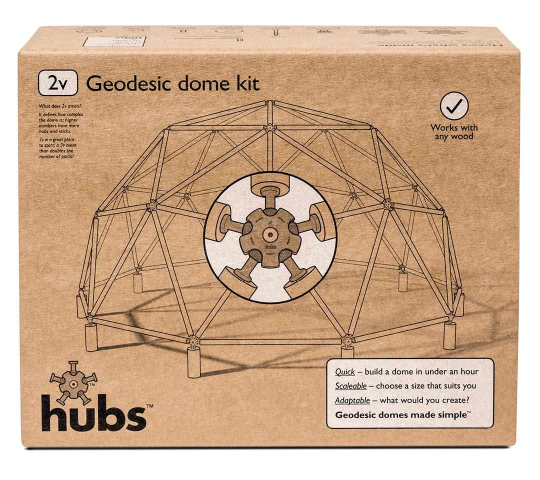 Geodesic Dome Home Kits: Hubs = Geodesic Domes Made Simple : The Kit